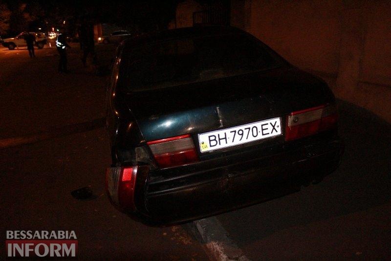 В Измаиле в аварию попал автомобиль патрульной полиции