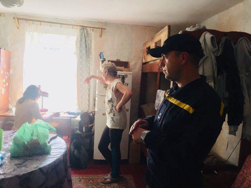 Белгород-Днестровские спасатели продолжают проводить рейды по кризисным семьям Аккермана