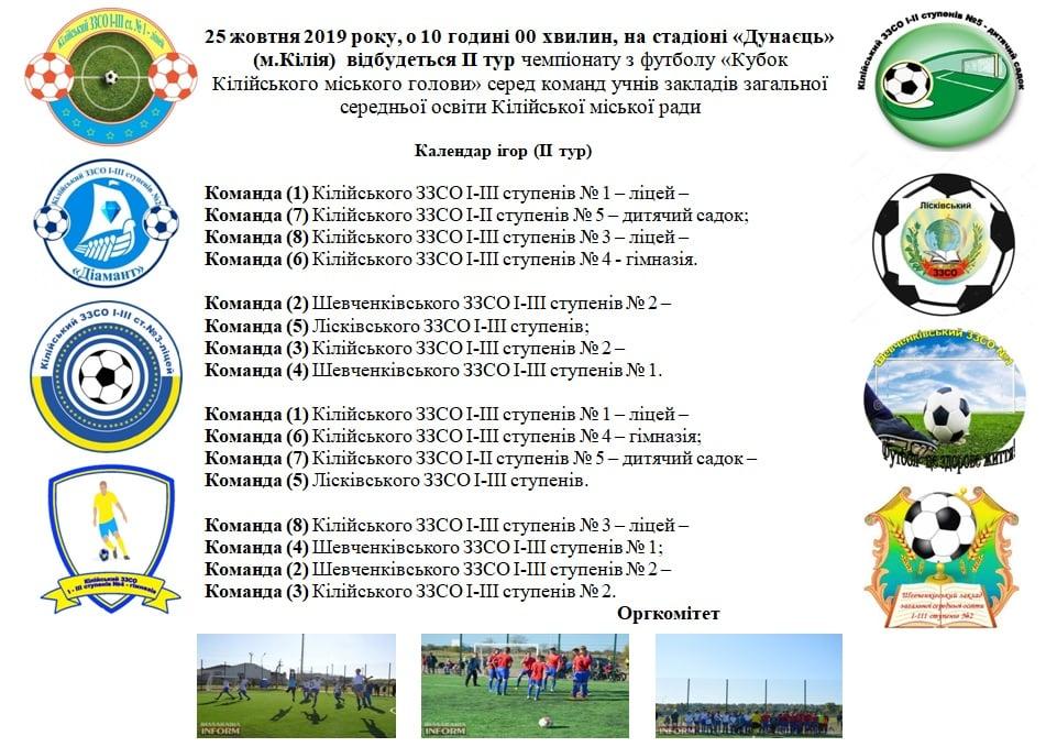 Завтра в Килии пройдет серия игр в рамках Школьной футбольной лиги
