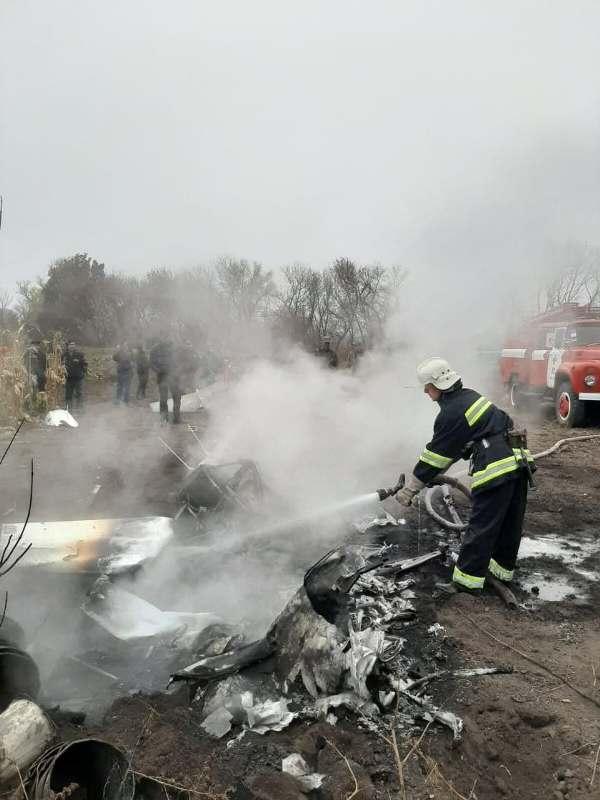 В крушении вертолета в Полтавской области погиб экс-министр Кутовой