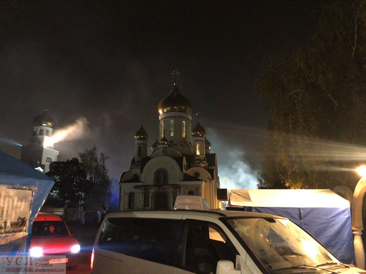 В Одессе горел Иверский монастырь