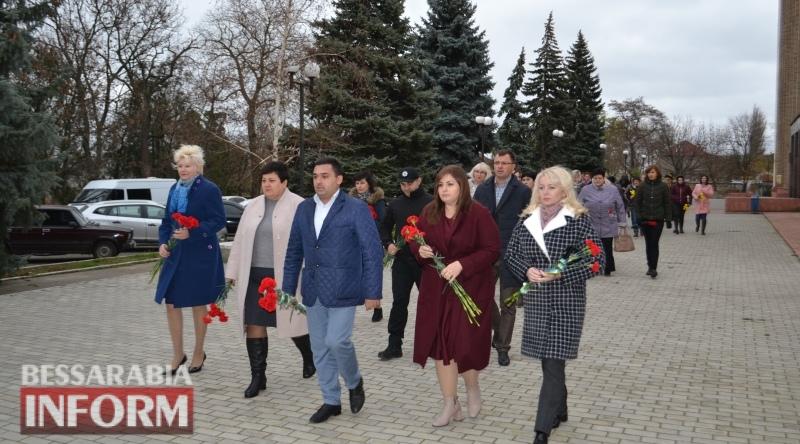 В Белгороде-Днестровском отметили День достоинства и Свободы