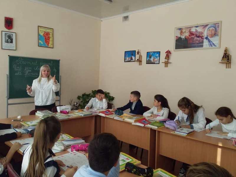 В село Болградского района прибыли два учителя из Албании для обмена опытом