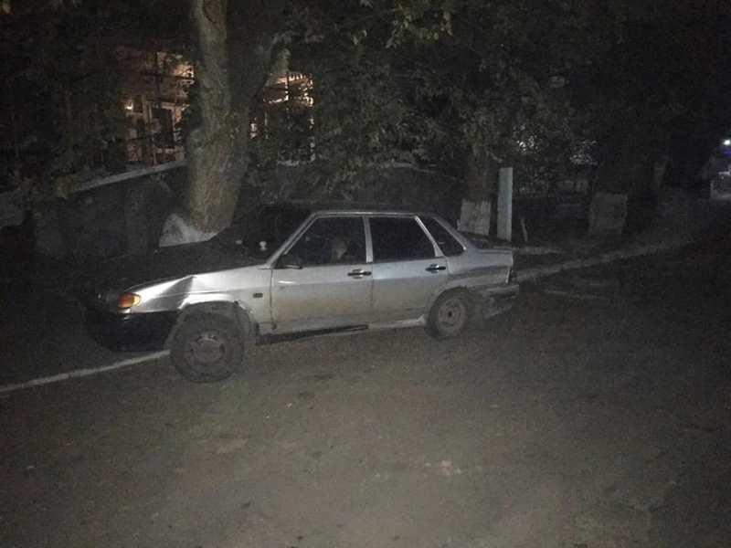 В Татарбунарах у пьяного водителя, который совершил ДТП и пытался скрыться с места происшествия, забрали права
