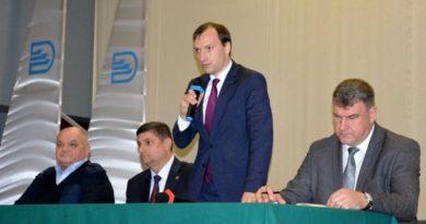 Трудовому коллективу УДП представили нового шефа