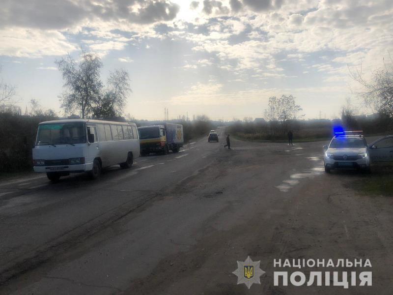В Одесской области грузовик столкнулся с автобусом - в результате пострадало шесть человек