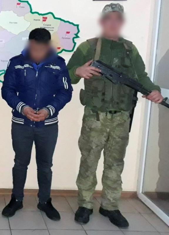 Белгород-Днестровские пограничники задержали двоих турков, которые пытались незаконно попасть на территорию Украины