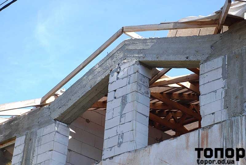 В Болграде вновь выделили деньги на недостроенный дом для медиков - теперь на замену крыши