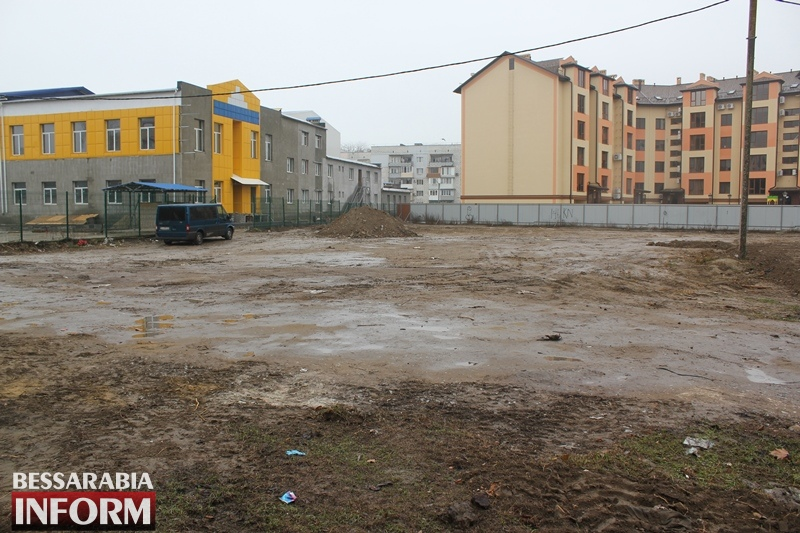 В Измаиле подготовили территорию под строительство нового детского садика - начинается поиск софинансирования