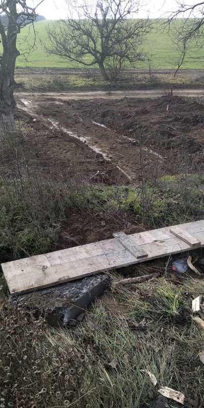 В Болградской районе продолжается ремонт аварийного моста - работы обещают завершить на следующей неделе