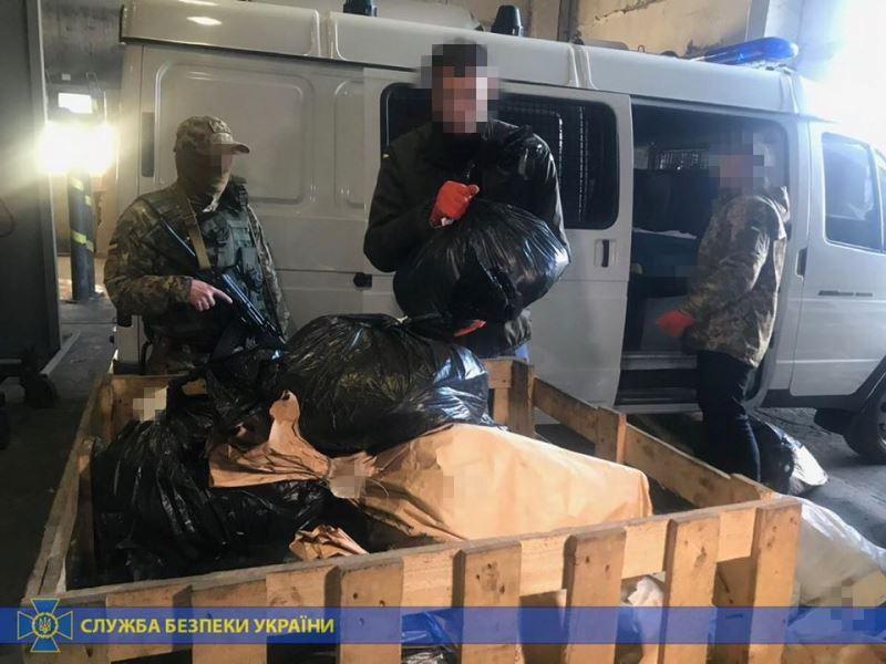 Как горят наркотики на $100 миллионов: фотоотчет утилизации вещдоков СБУ в Одесской области