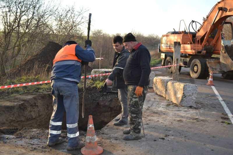 В Болградском районе начался ремонт ещё одного аварийного моста