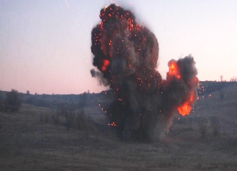 В Одесской области на стадионе одной из школ обнаружили 350 взрывоопасных предмета времен Второй Мировой Войны