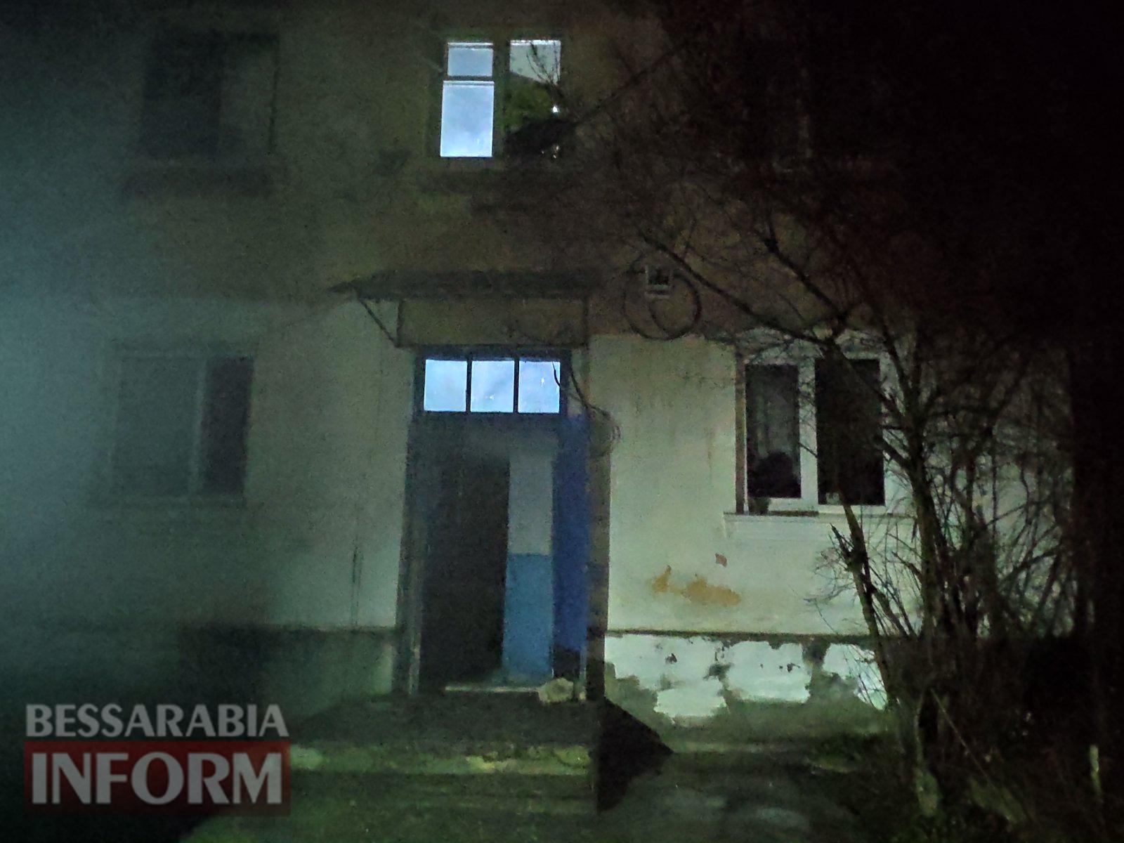 Вторая электрощитовая за день: вчера ночью в Килии из-за пожара эвакуировали людей из двухэтажки