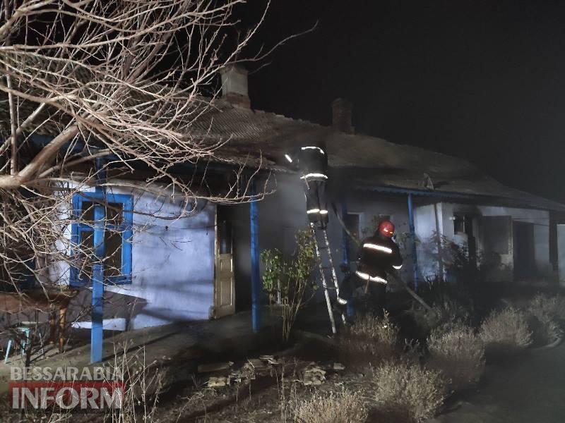 В селе Сафьяны Измаильского района во время пожара сгорели мать и сын