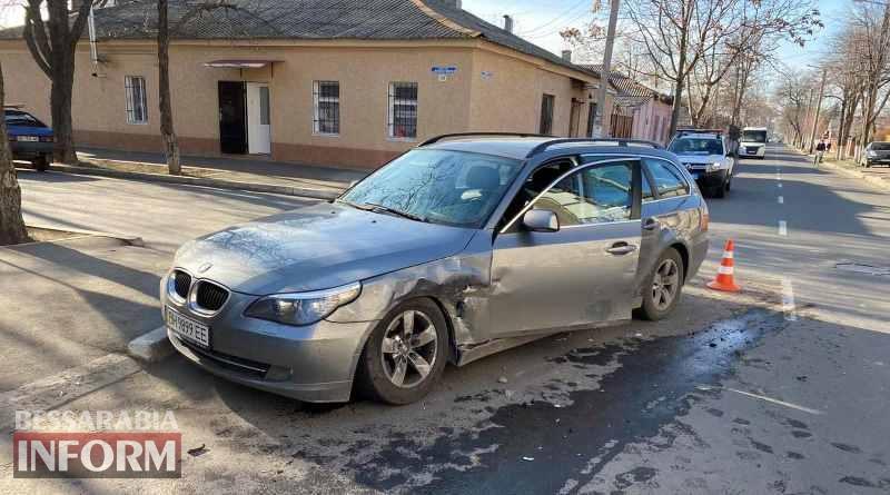 В Измаиле на Болградской столкнулись Chevrolet и BMW