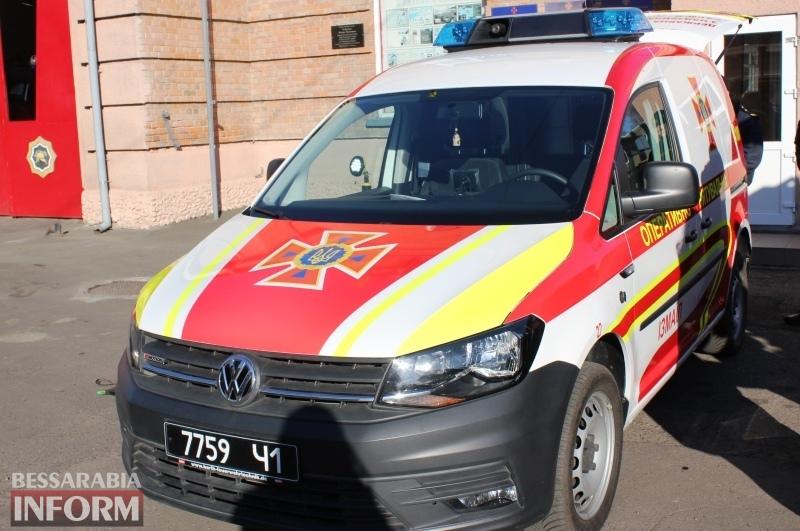 Снегоболотоход и специальная машина для ликвидации последствий ДТП: спасатели Измаила получили новую технику