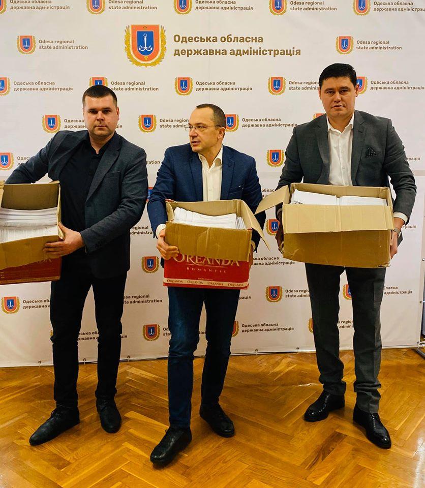 Председатель Одесской ОГА передаст президенту Украины десять тысяч просьб жителей Килийской ОТГ о ремонте дороги