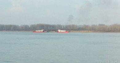 Украинское судно заблокировало движение по Дунаю в Болгарии