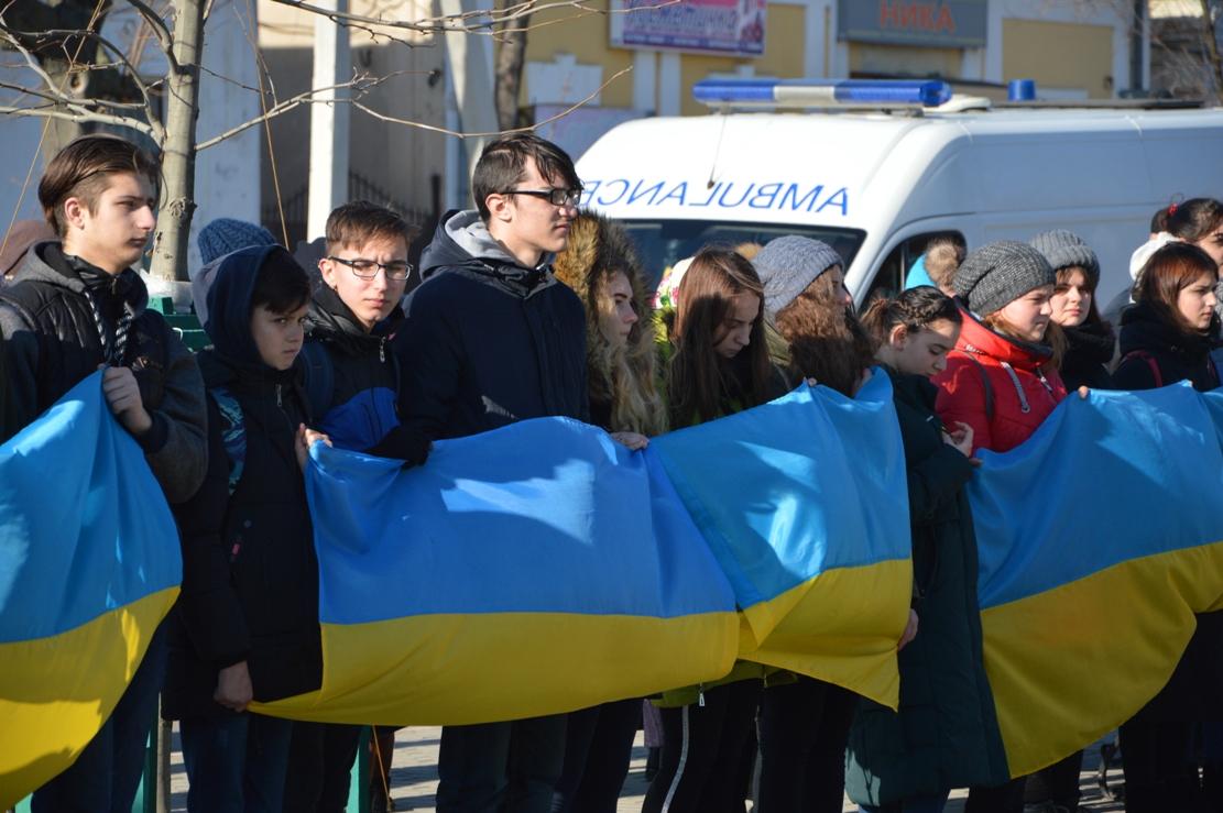 Килия, как и вся Украина, - одна семья: килийцы отпраздновали День Соборности