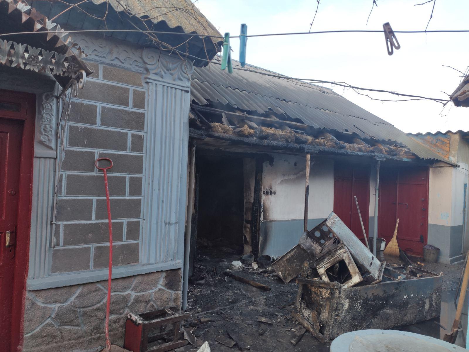 Пожарные спасли дом пенсионера в Измаильском районе