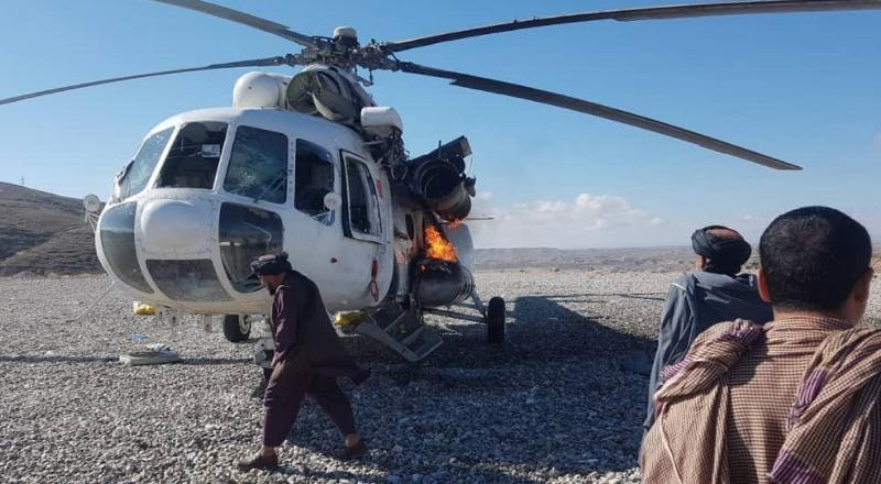 В Афганистане сбили молдавский вертолет: среди пострадавших двое украинцев