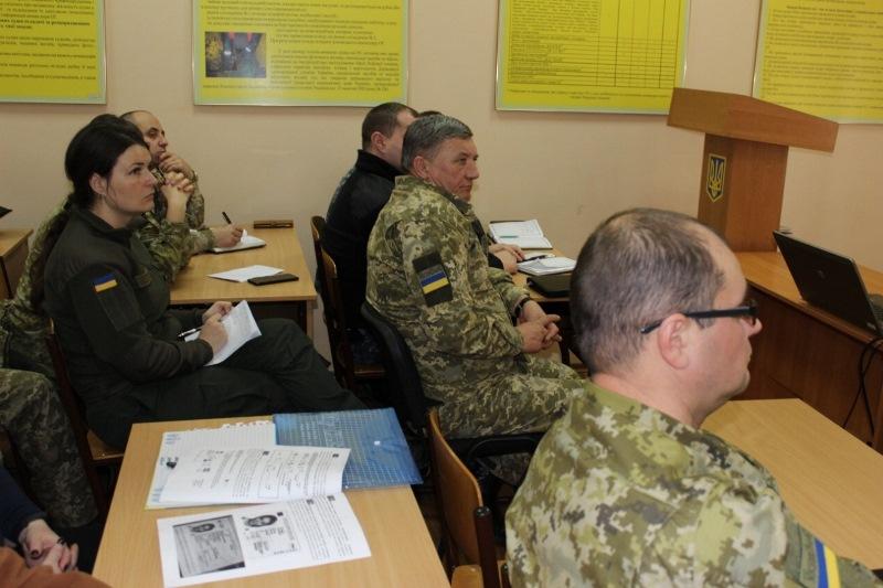 В Измаиле прошла лекция по Е-декларированию для пограничников, военнослужащих морской охраны и нацгвардейцев