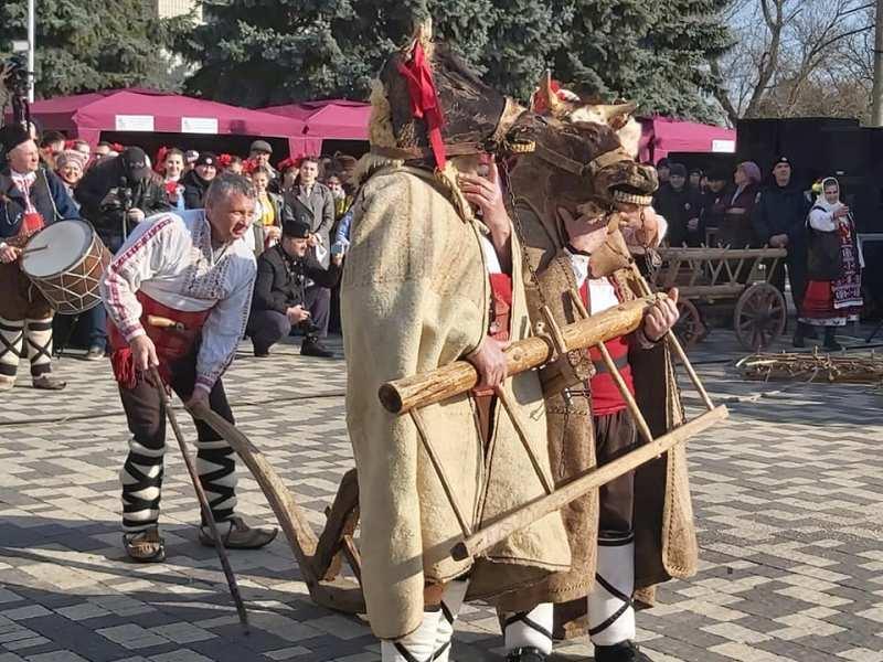 В Болграде отметили традиционный фестиваль «Трифон Зарезан» - один из главных праздников болгар