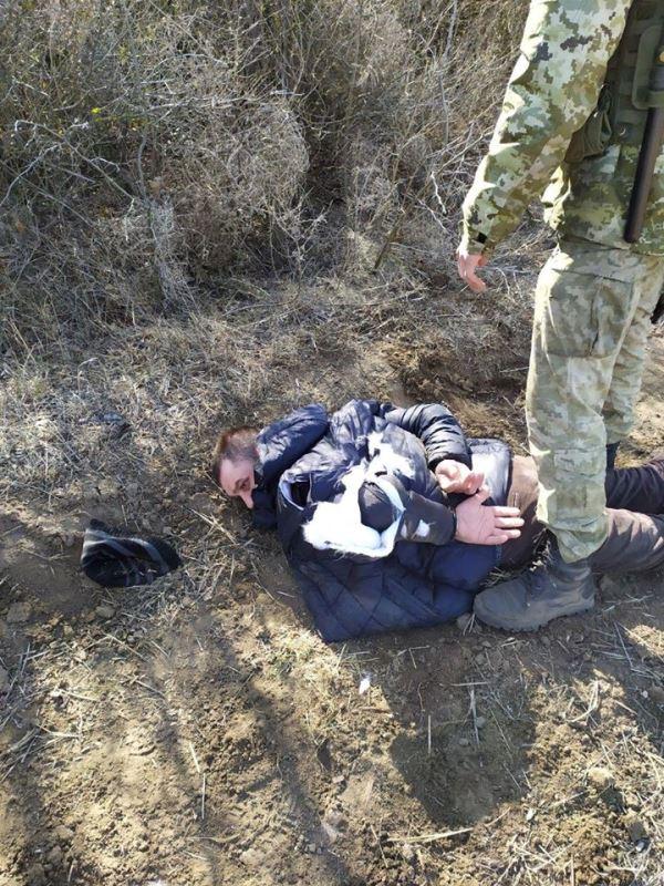 Четырехлапый помощник пограничников задержал на границе с Молдовой нарушителя. Мужчина отделался порванной курткой и запретом на въезд в Украину