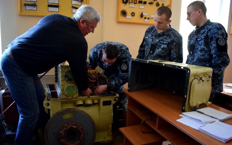 Измаил: в Учебном центре Морской охраны завершили обучение военнослужащие осеннего призыва 2019