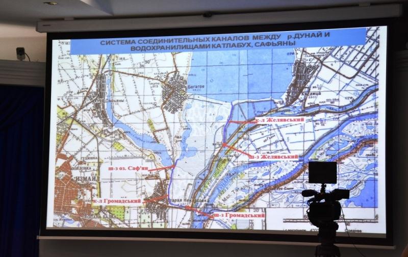 Одесский облсовет планирует раздамбование озера Сасык и наполнение озер Придунавья водой из Дуная