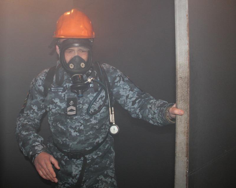 В Измаиле в Учебном центре Морской охраны прошел специальный курс по борьбе за живучесть корабля