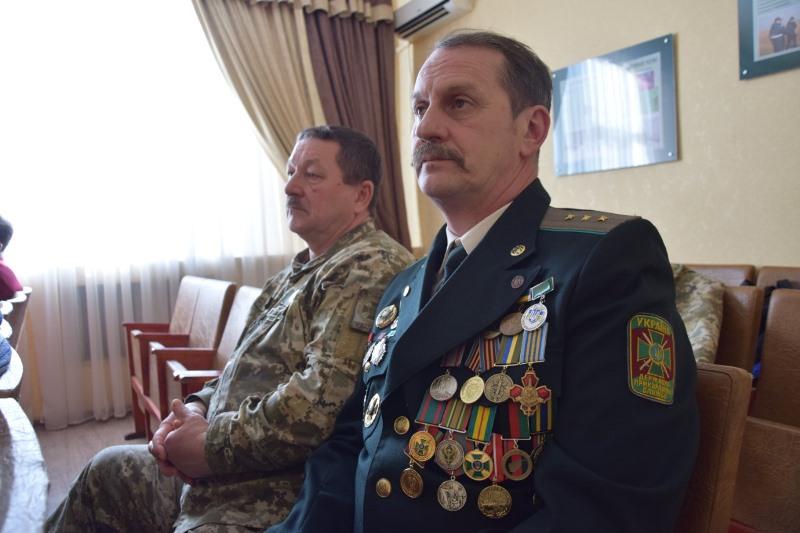 В Измаильском отряде чествовали ветеранов-пограничников, прошедших горнило войны в Афганистане