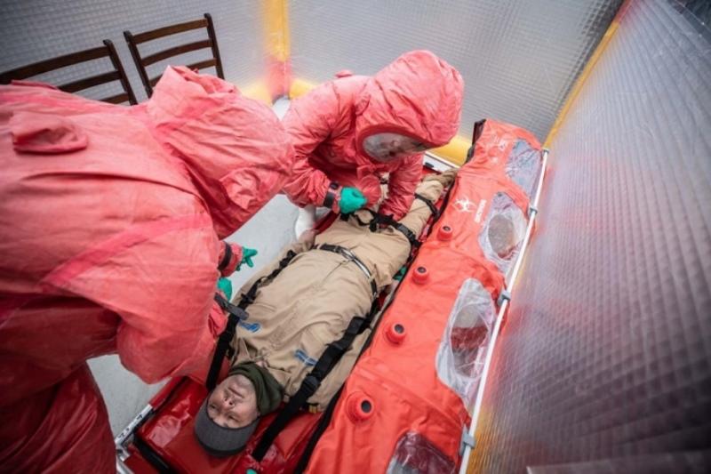 В Украине появился спецвертолет для больных коронавирусом - в планах завезти тесты для выявления инфекции на дому