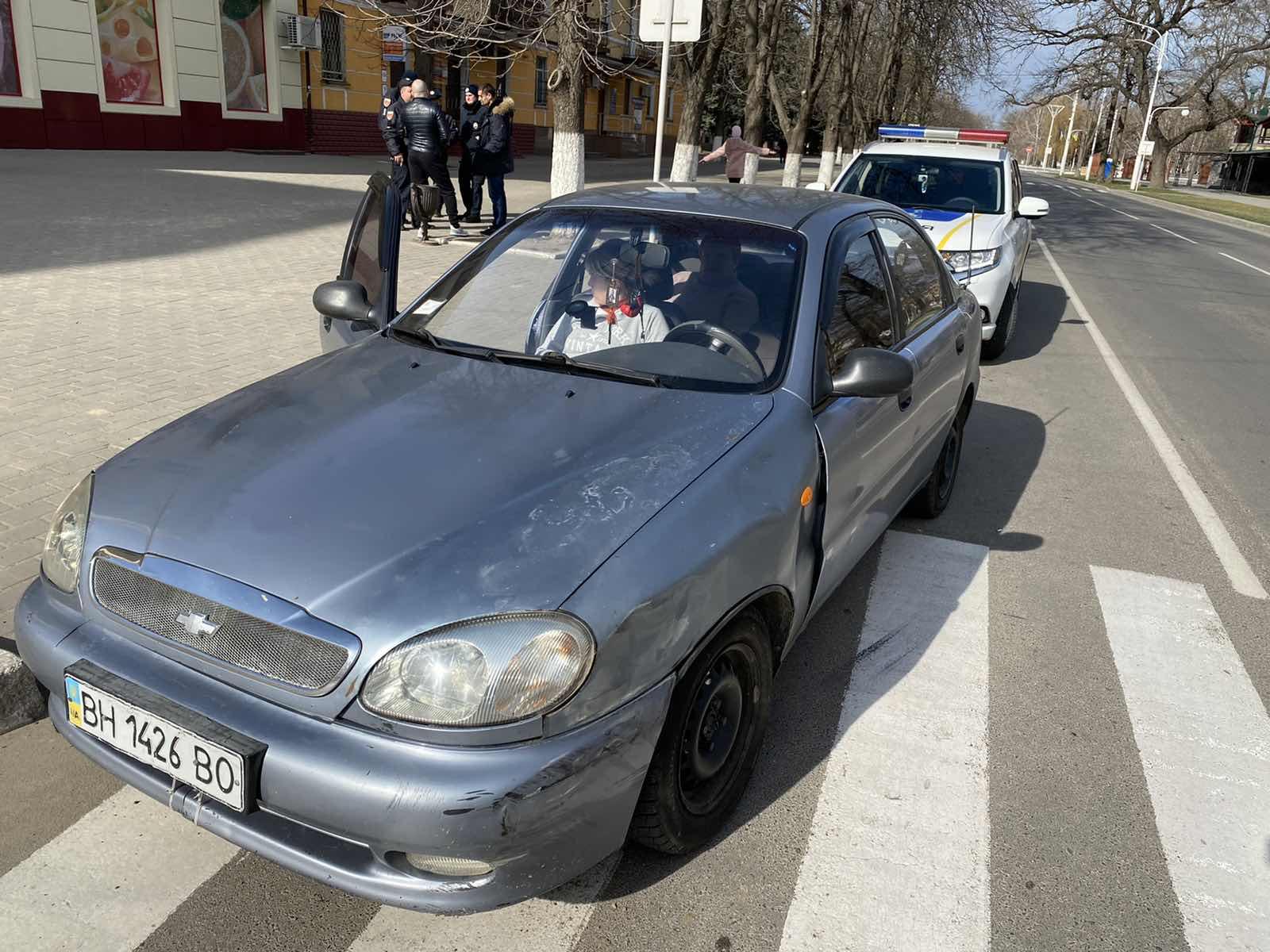 Измаил: на проспекте Суворова столкнулись Daewoo Lanos и Toyota Prado