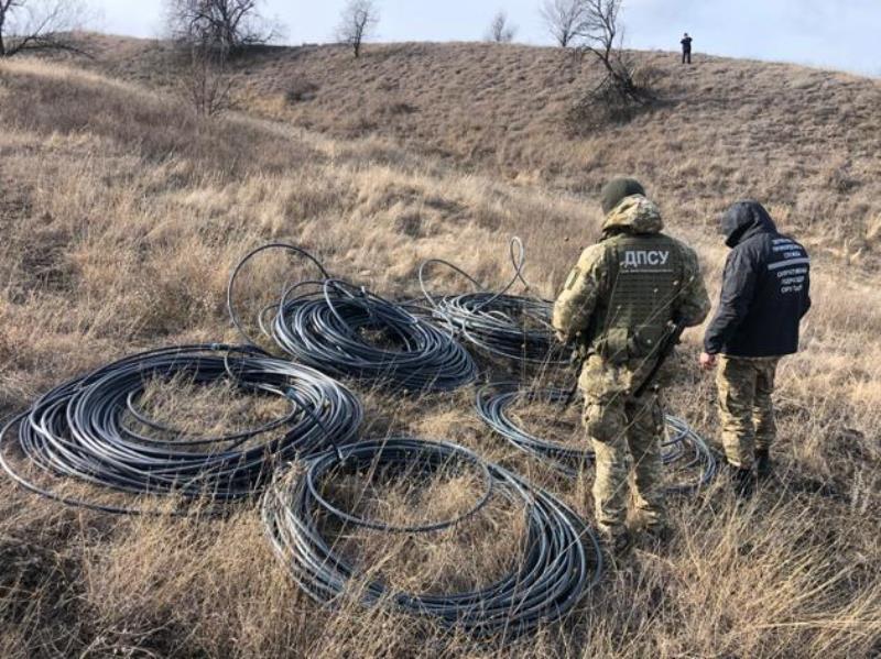 Пограничники Белгород-Днестровского отряда обнаружили на границе с Молдовой подземный спиртопровод длиной полкилометра