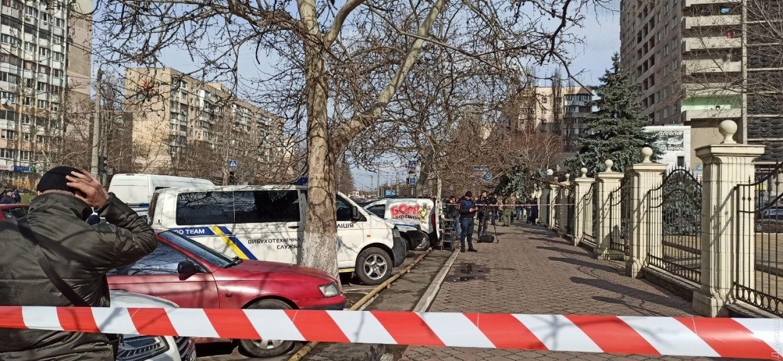 В Одессе подозреваемый в убийстве угрожал взорвать себя гранатой прямо в зале суда