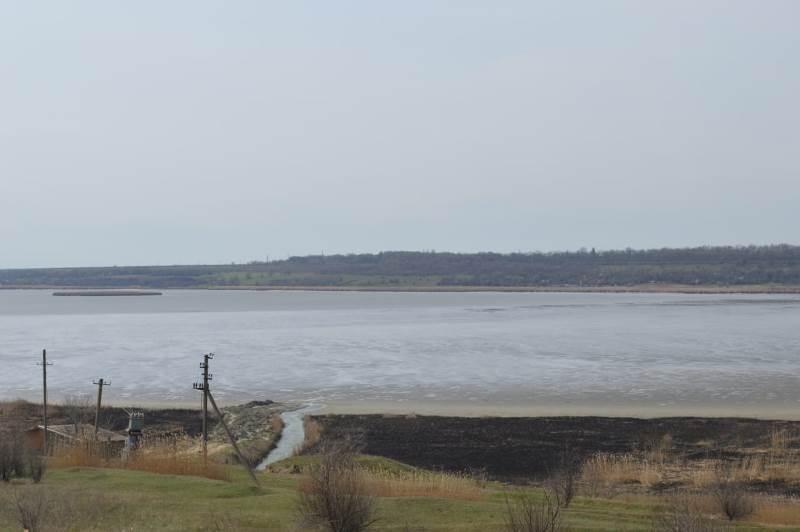"""""""Катлабух, встречай воду из Дуная"""": в Измаильском районе началось принудительное наполнение водохранилища"""
