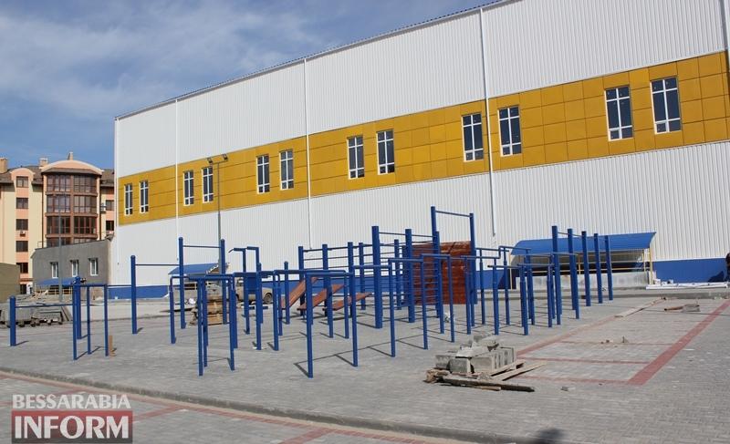 """В Измаиле создаётся новое коммунальное учреждение - """"Дворец спорта"""". Но до конца строительства спорткомплекса ещё далеко"""