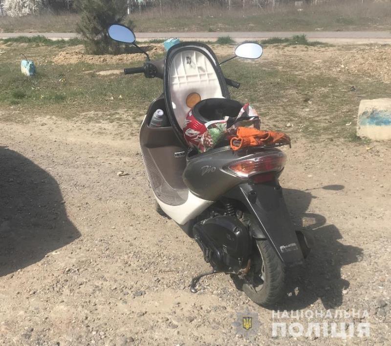 В Аккермане местный житель сам нашел похищенный у него ранее мопед