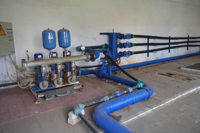 В Болграде отремонтируют резервуар запаса воды, чтобы избежать перебоев с водоснабжением летом
