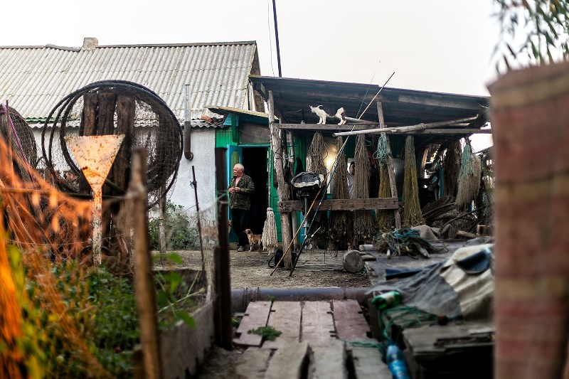 """Захватывающие съемки: жизнь бессарабских рыбаков глазами команды проекта """"Ukraїner"""""""