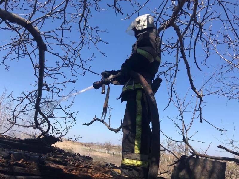 Спалила сарай и теплицу: в Белгород-Днестровском районе женщина, сжигая мусор, устроила масштабный пожар
