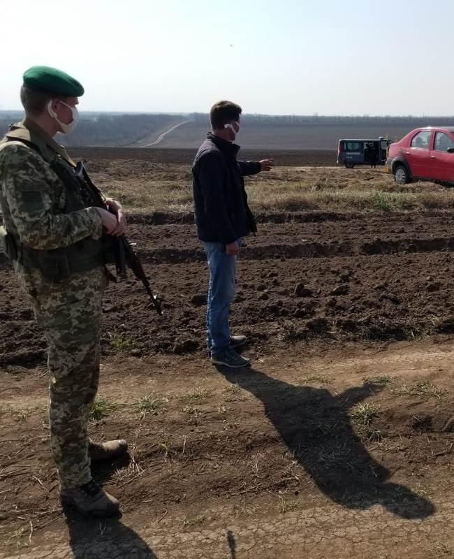 Ренийский р-н: пограничники задержали молдаванина, который, несмотря на карантин, решил навестить родственников в Украине
