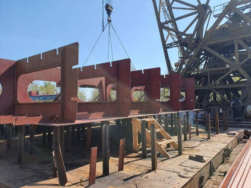 В Измаиле построят 128-метровую баржу - самую большую в истории независимой Украины