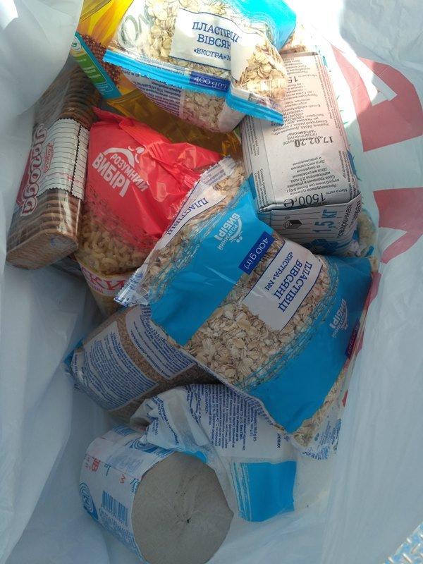 В селах Измаильского района пенсионерам начали доставлять на дом продуктовые наборы с товарами первой необходимости