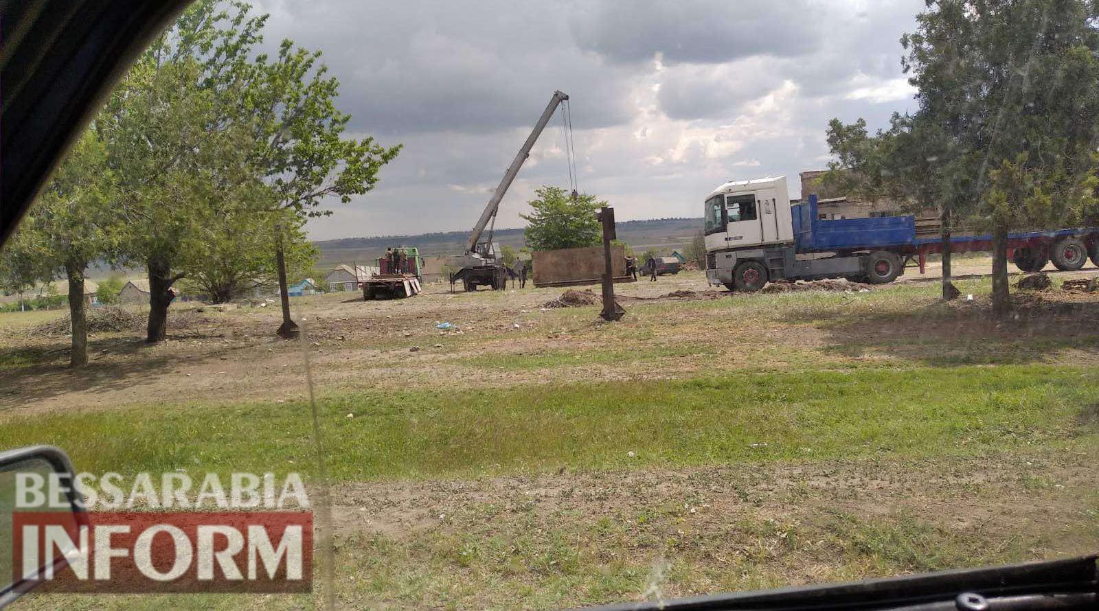 В Татарбунарском районе под прикрытием правоохранительных органов возобновилось открытое разворовывание оросительной системы