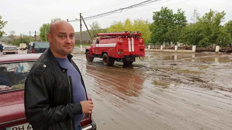 Село Болградского района второй раз подряд заливает мощным ливнем - к ликвидации последствий привлекают даже военных