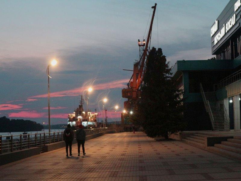 В Измаиле обновили набережную морвокзала и готовятся к приему круизных лайнеров после окончания карантина
