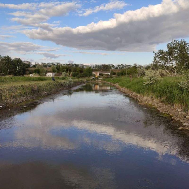 Засуха отразилась и на самом большом озере Украины - Ялпуг заметно обмелел